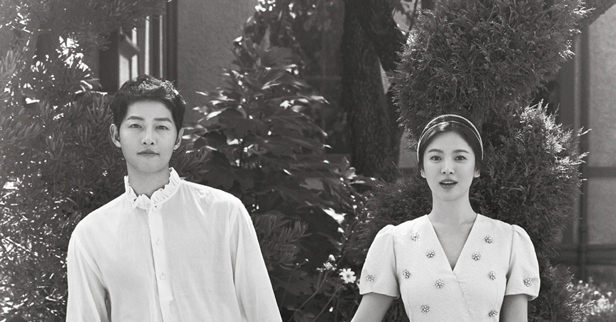 Song Joong-ki and Song Hye-kyo tied the knot on October 31.