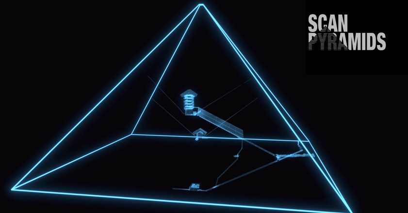 [ScanPyramids mission 유튜브 캡처]