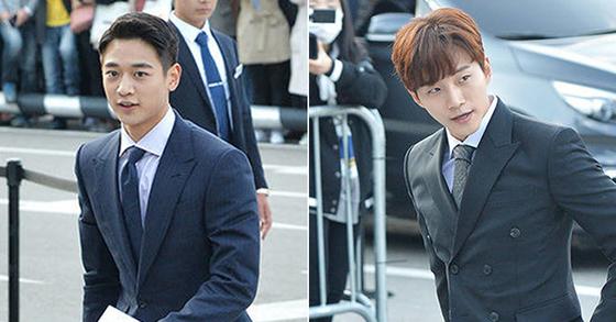 Choi Min-ho and Kim Joon-ho