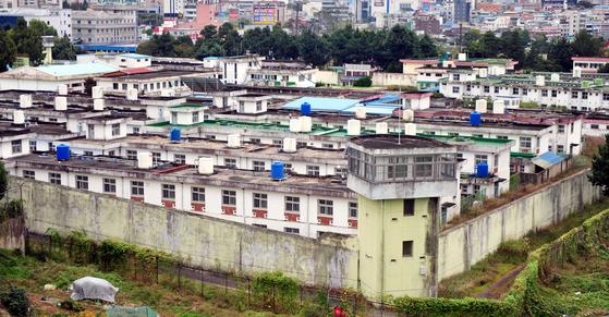 옛 광주교도소 전경. [뉴시스]