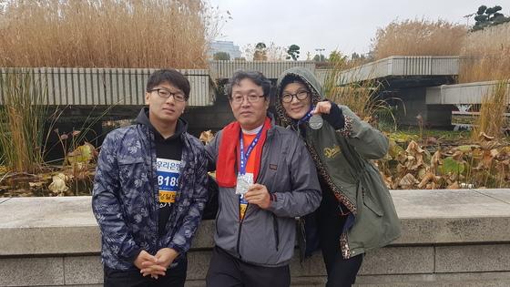 차영규(55)씨 가족. 여성국 기자