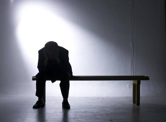 우울증. 권혁재 사진전문기자
