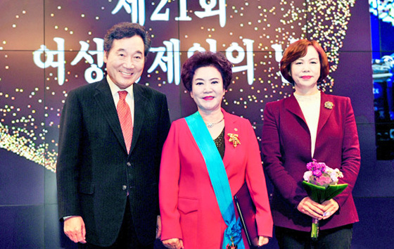 김순자 한성식품 대표 금탑산업훈장