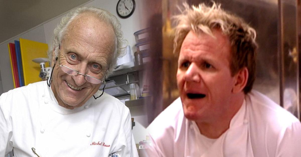 왼쪽부터 레스토랑 '워터사이드인'을 운영 중인 셰프 미셸 루, 오른쪽은 고든 램지.