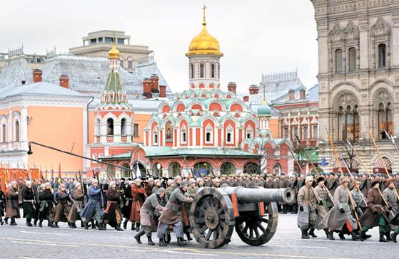 러시아 군사 퍼레이드