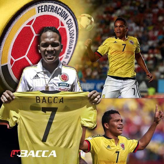 콜롬비아 대표팀 공격수 카를로스 바카. [사진 바카 인스타그램]