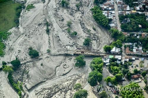 제방 붕괴로 홍수가 난 코린토 시 전경 [AFP=연합뉴스]