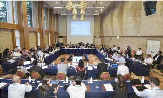 미국의 이탈로 11개국이 된 환태평양경제동반자협정(TPP) 참가 11개국은 지난 7월 일본 가나가와(神奈川)현에서 실무협의를 진행하고 조기 협정 발효를 논의했다. [연합뉴스]