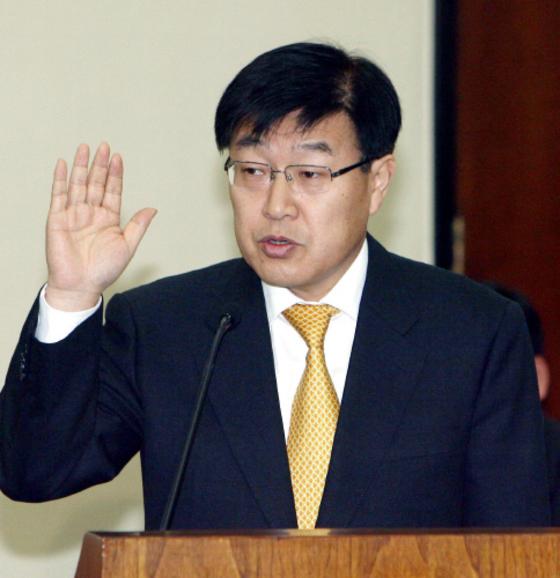 김영주 전 산업자원부 장관.