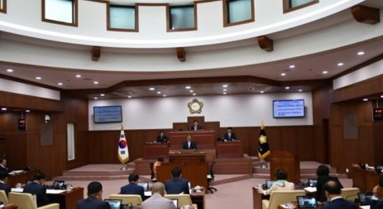 경북 김천시의회. [연합뉴스]