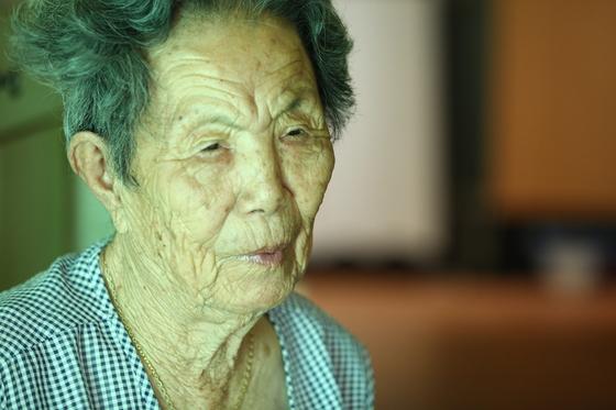 위안부 피해자 이기정 할머니. [중앙포토]