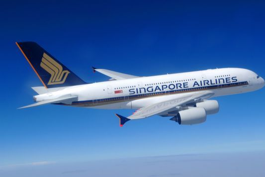 싱가포르항공이 2007년에 구매한 A380-800 항공기. [사진 싱가포르항공]