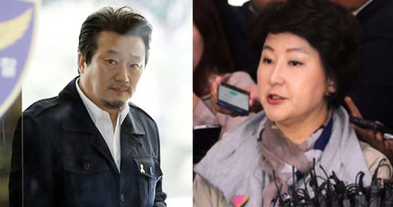 이상호기자(왼쪽 사진=뉴시스), 서해순씨(오른쪽 사진=최승식 기자)