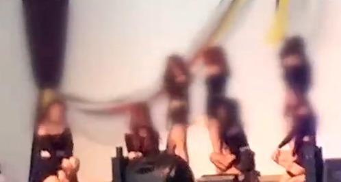 성심병원이 자체적으로 개최하는 체육대회 중 간호사들의 장기자랑 모습. [사진 JTBC 방송 캡처]