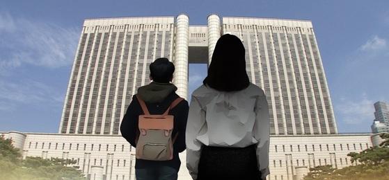 법원이 초등학생과 수차례 성관계를 한 여교사에게 5년형을 선고했다. [연합뉴스]