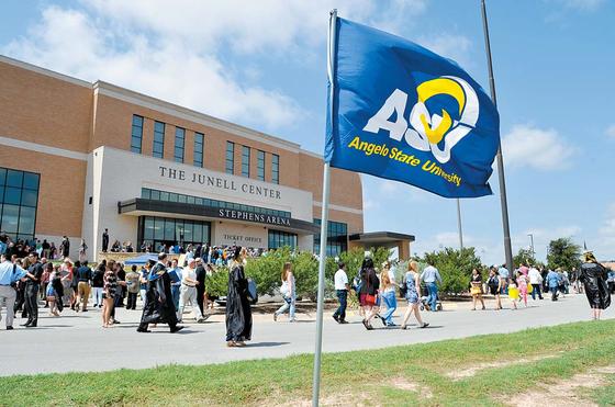 텍사스 주 앤젤로주립대는 학생 수가 적은 만큼 사립대처럼 세밀하게 학생의 학업과 진로, 취업 준비를 돕는다. [사진 앤젤로주립대]