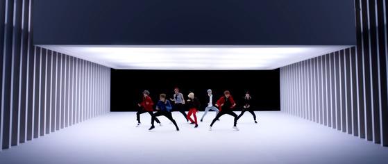 'DNA' 뮤직비디오. [사진 빅히트 유튜브]