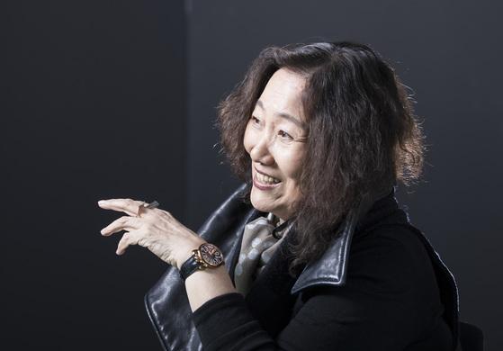 시인 문정희(69). [중앙포토]