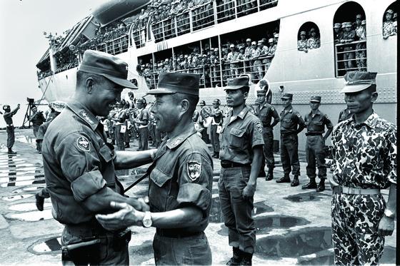 베트남 파병.
