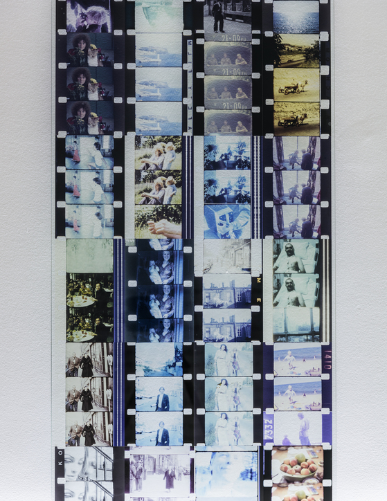 전시장에 선보이고 있는 요나스 메카스의 작품. 사진=국립현대미술관