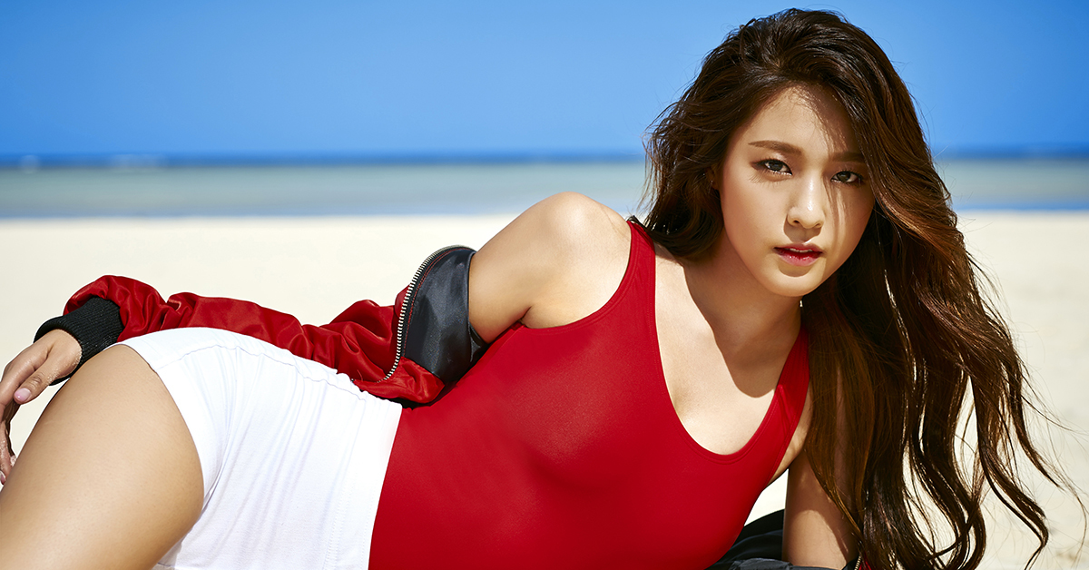 Seolhyun of AOA (Photo from FNC Entertainment)