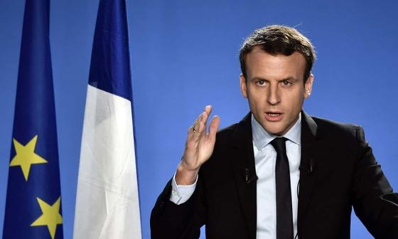 에마뉘엘 마크롱 대통령 [AFP]