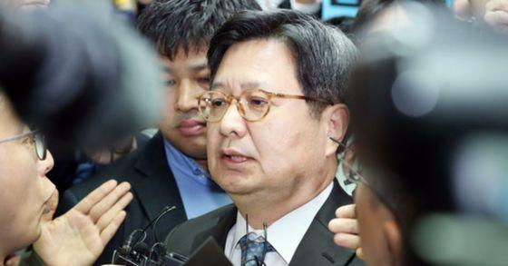 김장겸 전 MBC 사장. 김경록 기자