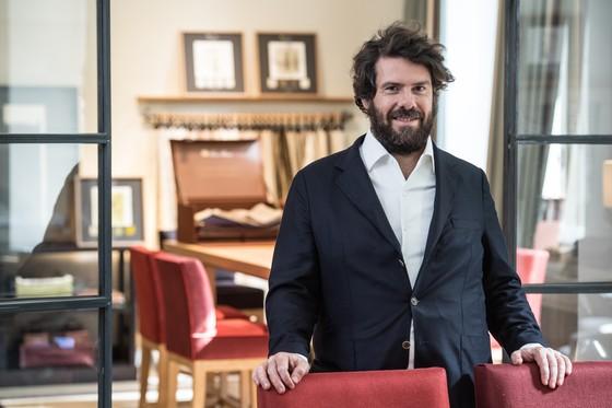 파비오 디안젤란토니오 로로피아나 최고경영자. [사진 로로피아나]