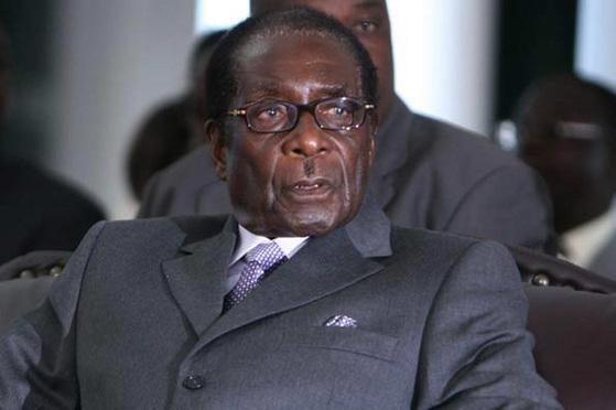 로버트 무가베 대통령.