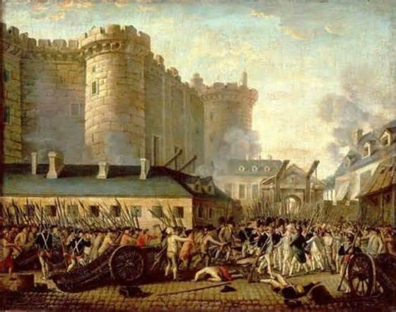 1789년 7월 파리 시민들이 바스티유 감옥을 습격하면서 프랑스 혁명이 시작됐다. [중앙포토]