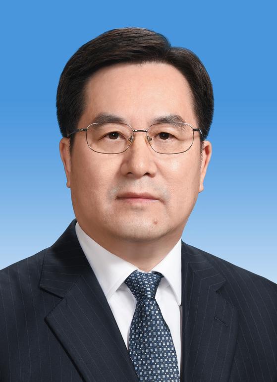 딩쉐샹(丁薛祥·55) 중국 공산당 중앙판공청 주임.
