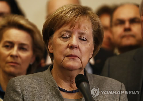 앙겔라 메르켈 독일 총리 [AFP=연합뉴스]