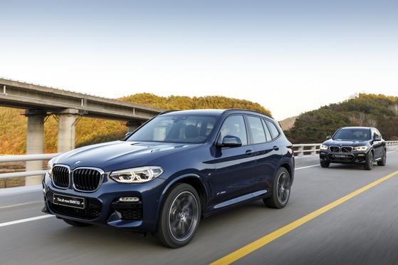 17일 서울 성수동에서 경기 여주시 세종천문대까지 100km 구간에서 진행된 BMW '뉴 X3' 시승행사. [사진 BMW코리아]
