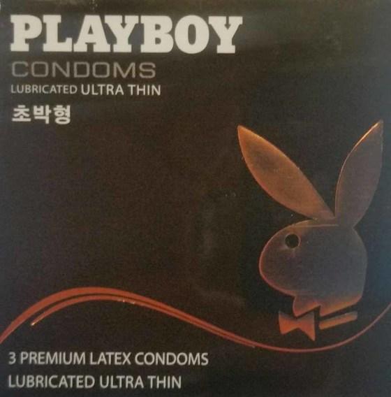 메디바이스 '플레이보이' 콘돔. 김영주 기자.