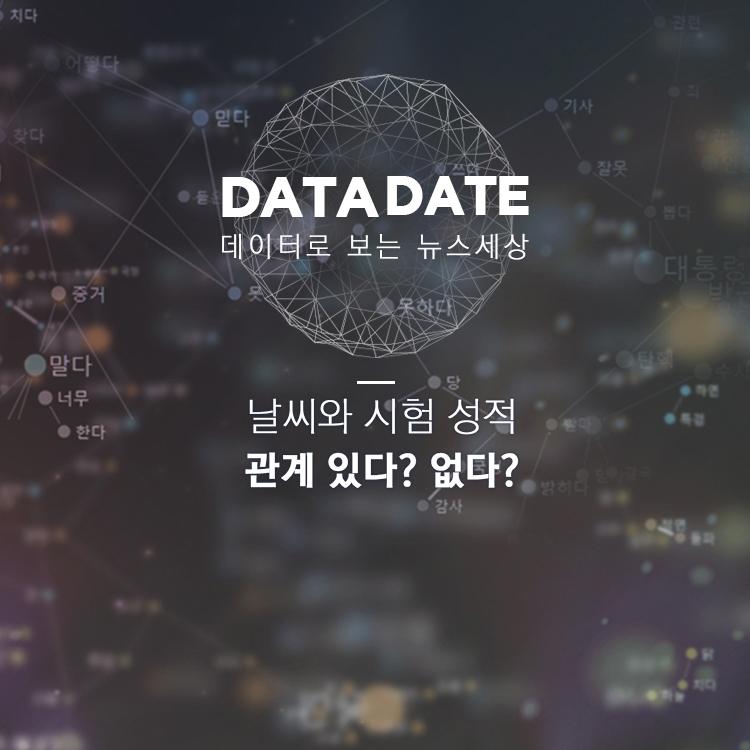 [데이터데이트] 수능 잘 보는 고사장? 실내환경이 관건