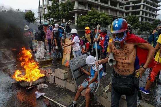 베네수엘라의 반정부 시위 [EPA=연합뉴스]