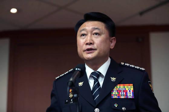 이철성 경찰청장. 박종근 기자