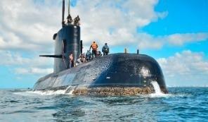 아르헨티나에서 훈련 중이던 해군 잠수함이 15일(현지시간) 실종된 가운데, 실종 닷새째인 20일까지도 아무런 흔적을 찾지 못하고 있다. 사진은 실종되기 이전에 촬영된 ARA 산후안 호의 모습. [사진 아르헨티나 해군]
