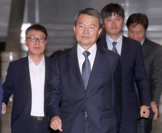 이진성 헌법재판소장 후보자. 최정동 기자