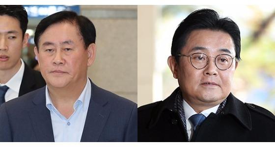 최경환(左), 전병헌(右)