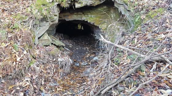 지난 11월 40대 여성의 토막 난 시신이 발견된 충북 보은군 내북면의 한 토굴. 이 여성 피살사건의 유력 용의자인 60대 남자친구는 경찰 조사가 시작되자 음독자살을 시도, 지난 10일 병원에서 숨졌다.[연합뉴스]