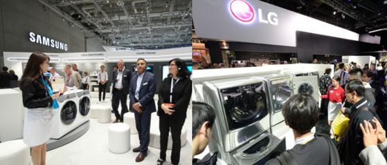 미 ITC가 삼성·LG의 대형 가정용 세탁기가 자국 산업에 심각한 피해를 미친다고 판정했다. [중앙포토]