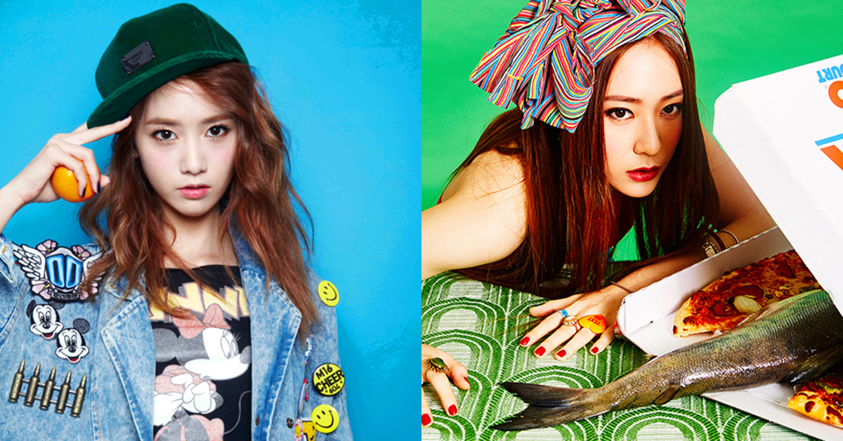 Yoona (left) and Krystal (right) [Photo from SM ENTERTAINMENT]