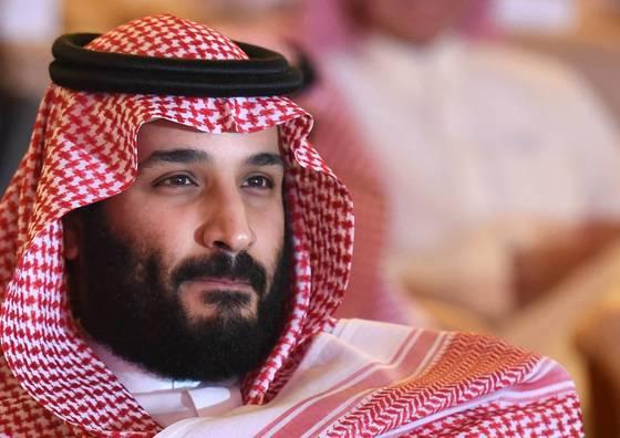 사우디아라비아의 왕세자 무함마드 빈살만. [AFP= 연합뉴스]