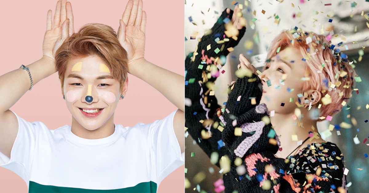 Kang Daniel(left) and Jimin. [photo from Innisfree(left) and BTS Instagram]
