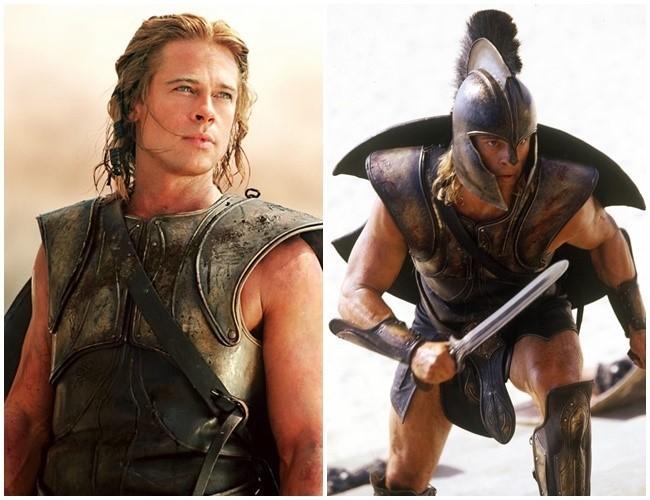 트로이 전쟁의 영웅 아킬레우스는 청동으로 만든 갑옷과 투구, 단검을 사용했다. [영화 트로이]