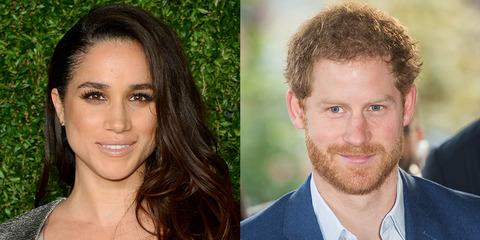 영국 해리 왕자(33)와 여자친구 할리우드 배우 매건 마크리(36·왼쪽).