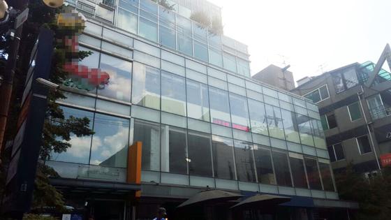 25일 정유라씨가 살고 있는 서울 신사동의 빌딩에 괴한이 침입했다가 경찰에 붙잡혔다. [연합뉴스]