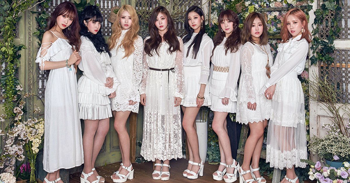 Lovelyz. Photo from Woollim official website.