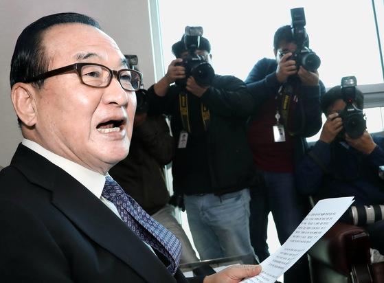 자유한국당 서청원 의원. [연합뉴스]